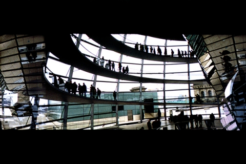Reichstag Foster & Partners <br/> Berlin 2002