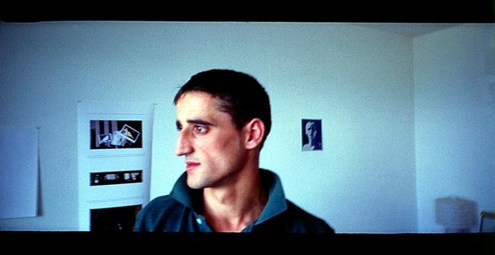 Kosovo worker, London 2004