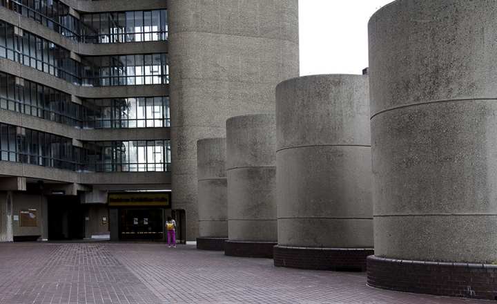 Barbican Complex - London 2010 <br>Architect Chamberlin, Powell and Bon